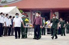 Rinden en provincia vietnamita tributo a héroes y mártires