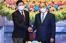 Visita del máximo dirigente de Laos a Vietnam: hito histórico para ambos pueblos