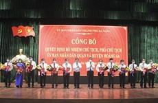 Distrito insular vietnamita de Hoang Sa tiene por primera vez un vicepresidente