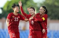 Selección femenina de fútbol de Vietnam sube al puesto 32 del ranking mundial