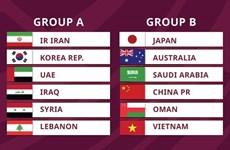 Vietnam chocará con China y Japón en ronda final de Asia para el Mundial de fútbol