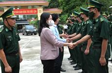 Vicepresidenta vietnamita visita provincia del extremo norte