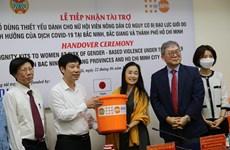 Llega asistencia de UNFPA a mujeres en zonas afectadas por COVID-19 en Vietnam