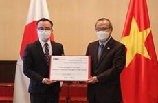 Organizaciones japonesas apoyan Fondo de Vacunas contra el COVID-19 en Vietnam
