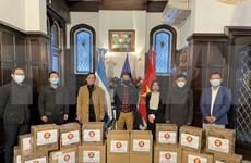 ACBA entrega donaciones a los pobres en Argentina