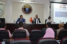 Vietnam y Egipto promueven cooperación en comercio y turismo