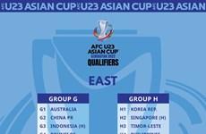 Vietnam presente en el grupo I eliminatorio para la Copa Asiática sub-23 de fútbol