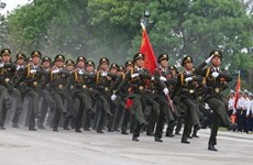 Destacan esfuerzos y tradiciones heroicas de fuerza de seguridad de Vietnam