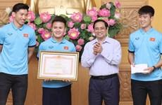 Impulso de desarrollo deportivo es política consecuente de Vietnam, afirma premier