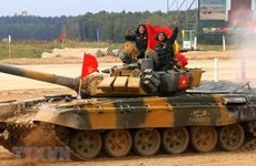 Delegación vietnamita parte hacia Rusia para participar en Army Games 2021