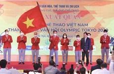 Delegación vietnamita lista para participar en Juegos Olímpicos de Tokio