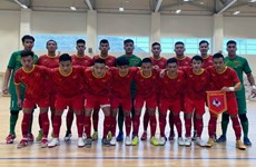 Selección vietnamita de futsal comienza su preparación para Copa Mundial