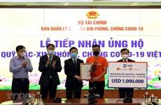 Recaudan 353 millones de dólares para fondo de vacunas contra el COVID-19 en Vietnam