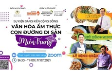 Celebrarán diversas actividades para promover la gastronomía de la región central vietnamita