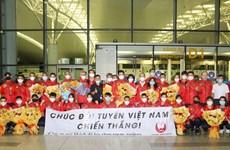 Delegación vietnamita llega a Tokio para los Juegos Olímpicos