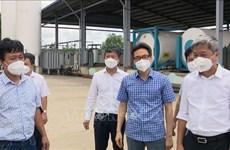 Vicepremier pide mejorar capacidad de producción de oxígeno en provincia de Binh Duong
