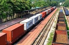 Parte primer tren de contenedores entre Vietnam y Bélgica