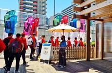 Juegos Olímpicos Tokio 2020: Vietnamitas en Japón apoyan a sus deportistas