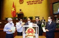 Eligen a jefes de entidades de Asamblea Nacional de Vietnam