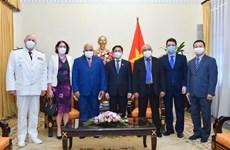 Proponen promover cooperación Vietnam-Cuba en producción de vacunas contra COVID-19