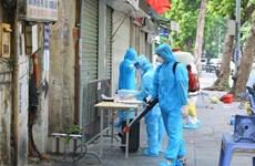 Hanoi aumenta el número de casos positivos del coronavirus