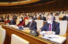 Continúa agenda del primer período de sesiones del Parlamento vietnamita