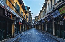 Hanoi arranca hoy distanciamiento social antes riesgo de nueva ola de COVID-19