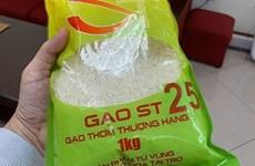 Aumentan exportaciones de variedades de arroz vietnamita ST24 y ST25