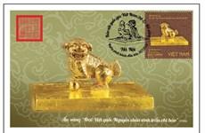 Lanzarán sellos sobre tesoros nacionales de oro de Vietnam