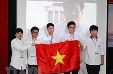 Estudiantes vietnamitas ganan 15 medallas en las Olimpiadas Internacionales