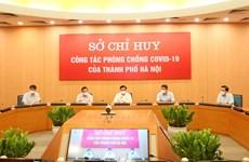 Hanoi por controlar eficientemente el COVID-19