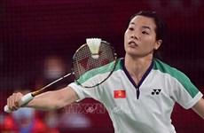 Badmintonista vietnamita cede ante rival taiwanesa en Juegos Olímpicos de Tokio 2020