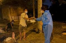 Efectúan programa de apoyo a los necesitados en Hanoi en contexto del COVID-19