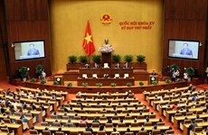 Concluye primer período de sesiones de la Asamblea Nacional de XV legislatura
