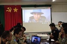 Hospitales de campaña vietnamita e indio cooperan en capacitación personal