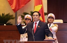 Primer Ministro de Corea del Norte felicita a jefe del Gobierno vietnamita