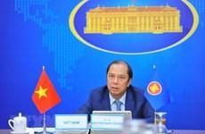 Vietnam participa en reunión preparatoria para Conferencia de Cancilleres de la ASEAN
