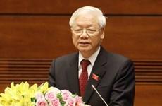 Dirigente partidista vietnamita recaba mayor unidad y fuerza en lucha contra COVID-19