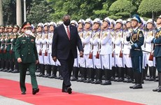 Secretario de Defensa de Estados Unidos realiza visita a Vietnam