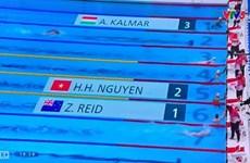 Nadador brinda a Vietnam nueva esperanza en los Juegos Olímpicos