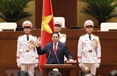 Premier de Camboya felicita al jefe de Gobierno vietnamita