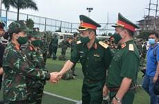 Despliegan fuerza médica para respaldar el combate contra COVID-19 en el Sur