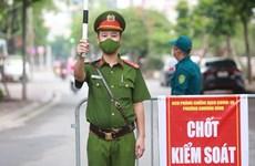 Hanoi restringe salida de las personas de la ciudad durante distanciamiento social