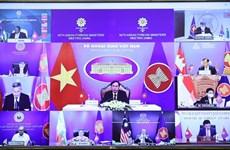 Participa Vietnam en 54ª Reunión de Cancilleres de la ASEAN