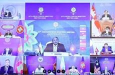 ASEAN reitera importancia de resolver por vía pacífica disputas en el Mar del Este