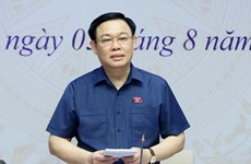 Presidente del Parlamento vietnamita dialoga con votantes