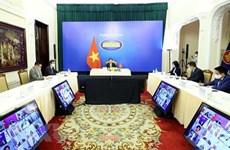 Canciller vietnamita asiste a reunión ministerial de Amigos del Mekong