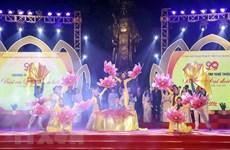 Organizan varios programas artísticos en Vietnam para estimular lucha contra el COVID-19
