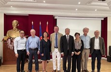 Resaltan contribución de Federación médica Francia-Vietnam a los lazos bilaterales