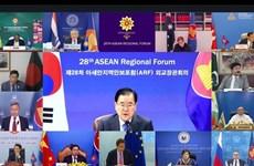 Corea del Sur resalta significado del Foro Regional de ASEAN